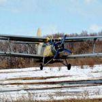Подкормка озимой пшеницы и рапса вертолётом